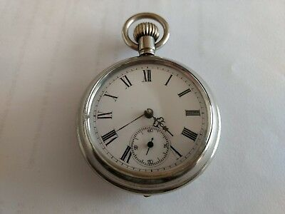 Antique French pocket watch Philippe F.T Paris no 17134