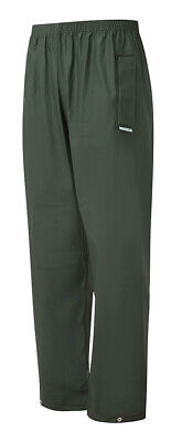 Castle Clothing Fortress 920 Men Rain Over Trousers Waterproof PU Tricot Green