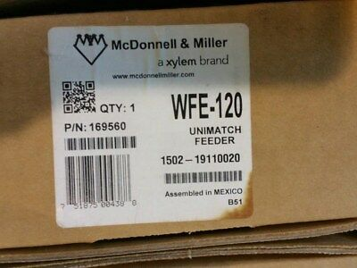 McDonnell Miller WFE-120 169560 Unimatch Automatic Water Feeder with blems