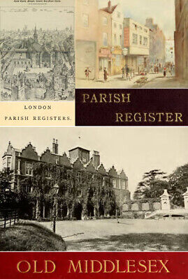eBooks: 325 of. London Parish Registers Middlesex History Directories, PDF