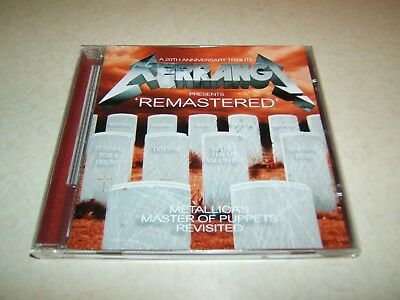 Kerrang ' Remastered' Tribute Metallica's Master Of Puppets Revisited  Cd