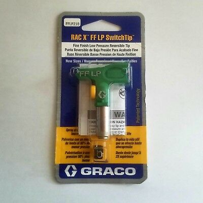 Graco RAC X Fine Finish LP SwitchTip 210