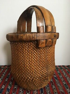 Chinese Wooden Basket