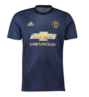 2018/19 | Adults | Manchester United Third Shirt | All Player Names & Customs