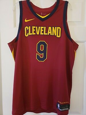 4e005509707 100% Authentic Nike Icon Edition Dwyane Wade Cleveland Cavaliers Jersey Sz  XL 52