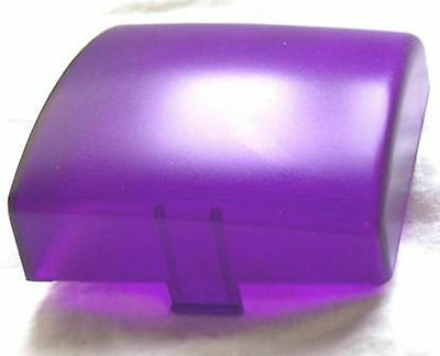 """dome light lens square purple plastic 3""""  two tab for Kenworth 1995-2000 each"""