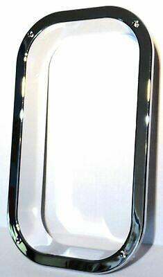 view window trim interior chrome plastic for Freightliner Classic Fld 1994 & up