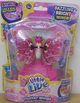 Little Live Pets Butterfly Series 3 ~ Flutter Heart ~ Flutter Wings Butterflies