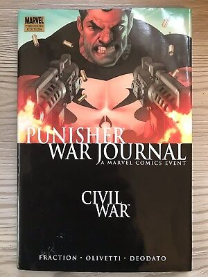 Civil War Punisher War Journal, Hardback Premier First Edition