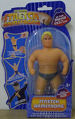 """Stretch Armstrong ~ 7"""" Mini Stretch Armstrong ~ He Can Stretch Upto 7x His Size"""