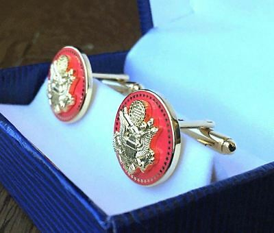 Hi End Red Senatorial 50 Star Cufflinks Senate/Congress/House - Presidential