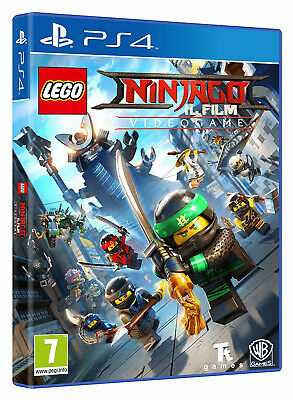 Warner Bros Lego Ninjago Il Film, PS4 Basic PlayStation 4 ITA videogioco Lego Ni