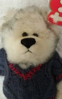 86aeb4d09dc Vintage TY Beanie Babies Fairbanks Plush Bear 1993 RARE ERROR ONE ARM