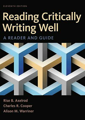EB00K-Reading Critically Writing Well, A Reader And Guide 11th Edition