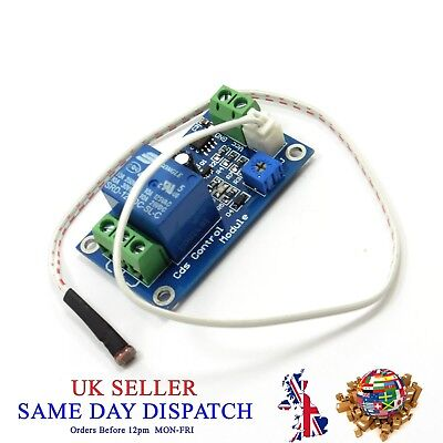 DC XH-M131 Bright Detection Sensor Module Light Control Switch Photoresistor