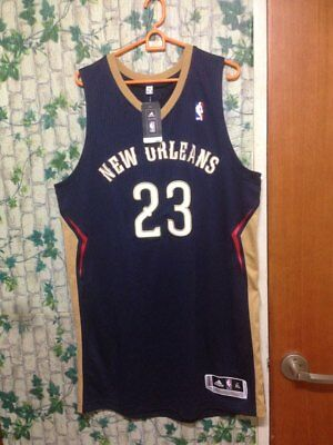1bf80bdecf0a ADIDAS NBA new orleans pelicans anthony davis authentic jersey size ...
