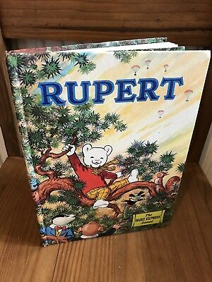 Rupert Annual White Face 1973 Very Good Unclipped Clean Condition