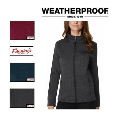New Womens Weatherproof 32 Degrees Heat Tech Fleece Full Zip Jacket Variety! J61