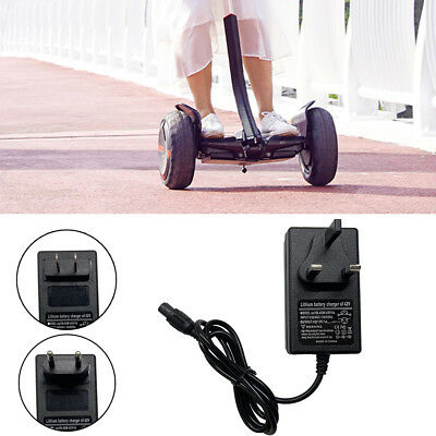 42V Power Adapter Charger For 2 Wheel Balancing Scooter Hoverboard Unicycle ws2