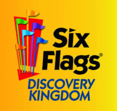 Two (2) Tickets to Six Flags Discovery Kingdom One-Day Admission