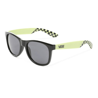 Vans spicoli 4 shades sunny lime black occhiali da sole new