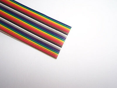 26 way Flat Coloured IDC Ribbon Cable