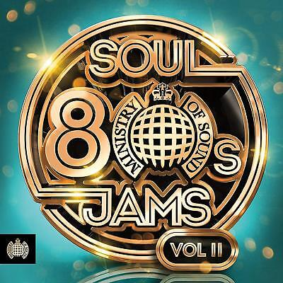 80S Soul Jams Vol. II - Ministry Of Sound - Various - Audio CD NEW