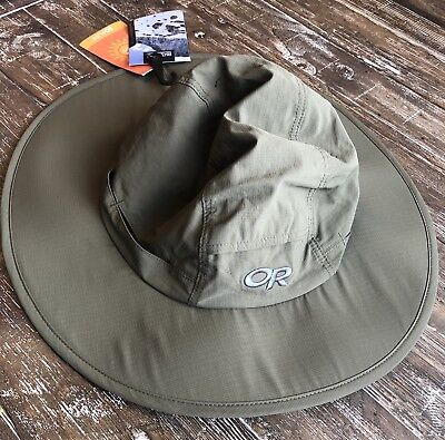 02ff9a44161 Outdoor Research Sombriolet Sun Hat Khaki Large Vented Sun Protection SPF  50+