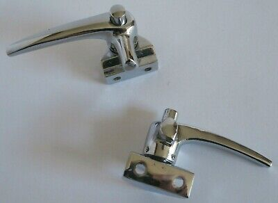 1952-1964 Vw Bug Bus Left & Right Vent Wing Window Latch Set (Pair) Lock