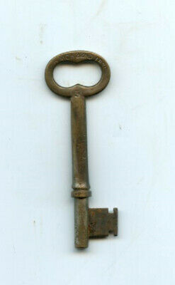 Antique Bronze and Iron Skeleton Key Patented March 22nd, 1871, #5