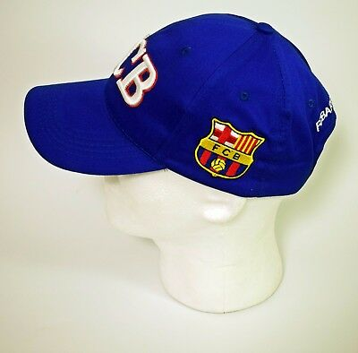 231ced9ab6a Fc Barcelona Hat Cap Official Fcb Blue Red Team Crest New Soccer Football  Unisex