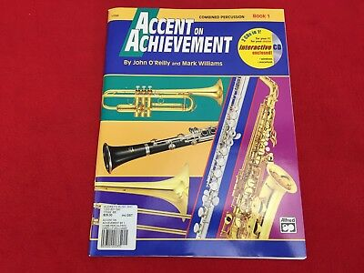 Accent on Achievement - Book 1 - Combined Percussion - With CD - 17099