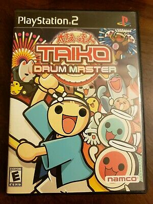 Taiko Drum Master (Sony PlayStation 2, 2004) Complete with Manual Game only