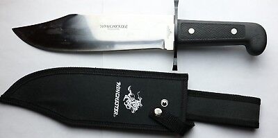 Winchester Outdoorsman Large Bowie Knife W/Sheath