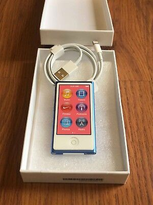 Apple iPod nano 7th Generation Blue (16GB) NEW!