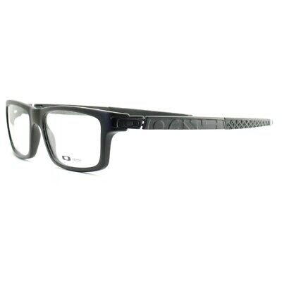 24665d731a OAKLEY CURRENCY OX 8026 0154 Satin Black Frames Glasses Eyeglasses Size 54