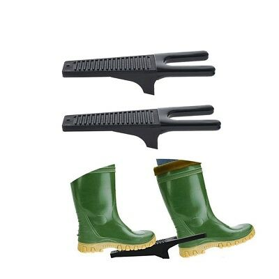 Baoblaze 2 Pcs Plastic Boot Jack Boot Puller Heavy Duty for Shoes Remover