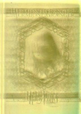 Harry Potter Order Phoenix Update Yellow Crystal Slab Hermione Chase Card