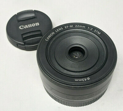 Canon EF-M 22mm f/2.0 STM Lens - Very Nice
