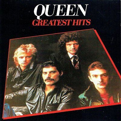 (CD) Queen -Greatest Hits -We Will Rock You, We Are The Champions, Killer Queen