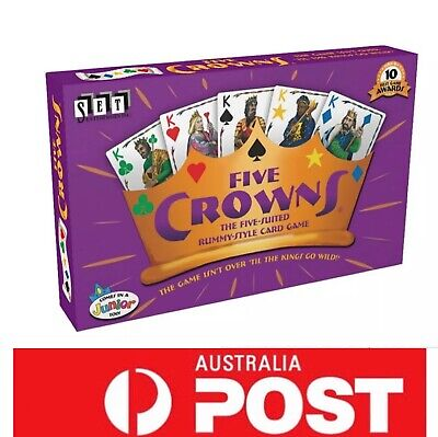 Five Crowns, the Awards Winning Board Game, AU Stock, Fast Delivery