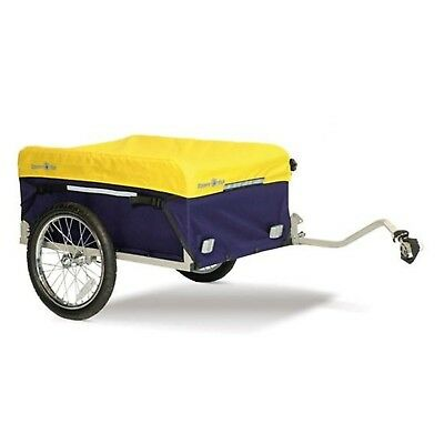 Kiddy Van Cargo Bike Bicycle Storage Covered Tailer with hand Cart Kit