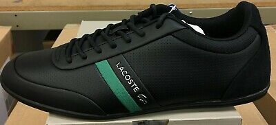 e41e5ed6a Lacoste Storda 119 2 U CMA Men s Casual Sneakers Black Leather  7-37CMA00861B4 L