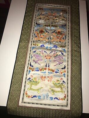 Chinese-Silk-Hand-embroidery-Forbidden-Stitch-Panel-Textiles