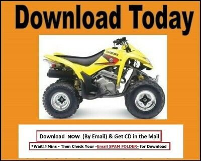 suzuki lt z250 2007 2008 2009 factory service repair manual download