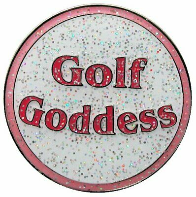 Golf Goddess Glitzy Ball Marker with Hat Clip