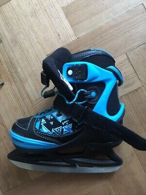 No Fear Youngster Ice Skates Childrens Classic Padded Ankle