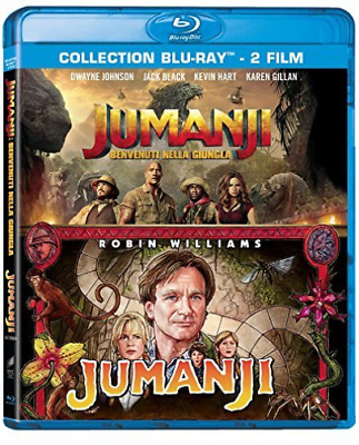 Johnson,Hart,Black,Gillan,D...-Jumanji Collection (2 Blu-Ray) BLU-RAY NEUF