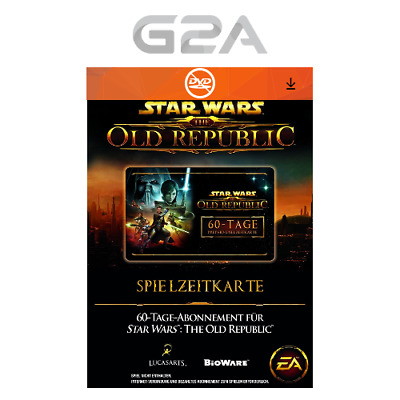60 Tage SWTOR Timecard - Star Wars the Old Republic GTC 60 days Spielzeitkarte