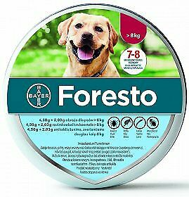 Bayer Foresto Flea amp Tick Collar for BIG Dogs  ABOVE 18lbs 10+1 FREE